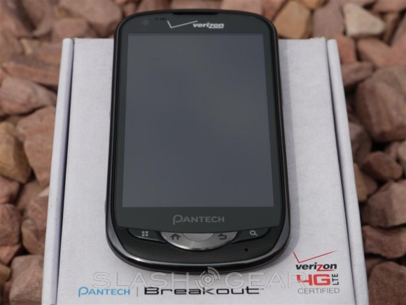 Pantech Breakout Review [Verizon 4G LTE] - SlashGear