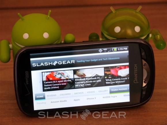 Pantech Breakout Review [Verizon 4G LTE] - SlashGear