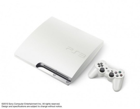White Sony PS3 to land in Europe and Australia, still no US love