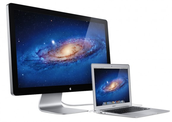 Apple's Thunderbolt Displays finally shipping to stores this week