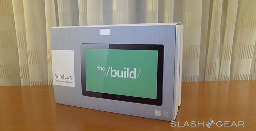 Windows 8 Tablet Hands-on