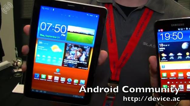Samsung Galaxy Note vs Tab 7.7 vs Galaxy S II