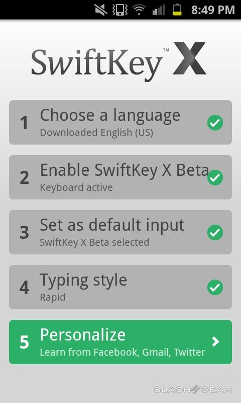 SwiftKey X 2 1 Keyboard for Android Hands-on [Video] - SlashGear