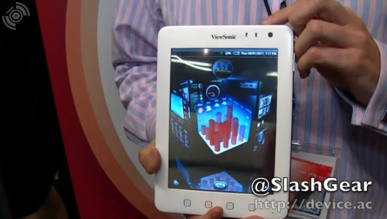 ViewSonic ViewPad 7e Android Tablet Hands-On [Video]