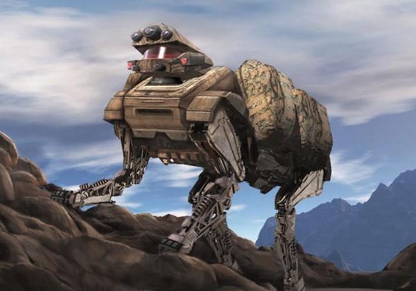 Alpha Dog robot is just as creepy as Big Dog robot