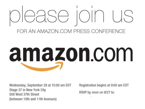 Amazon may unveil first tablet on September 28