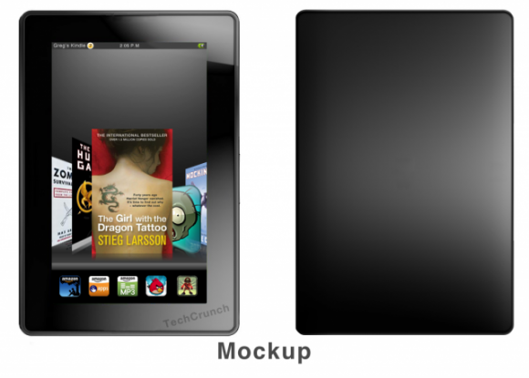 Amazon Kindle Fire publishers leak, used PlayBook as template
