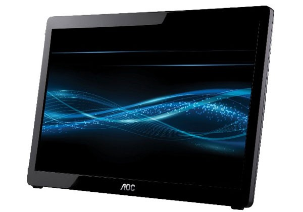 AOC shows off cool portable 16-inch USB LCD