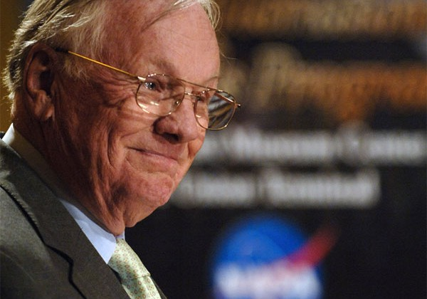 Neil Armstrong says NASA is embarrassing