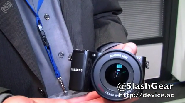 Samsung NX200 DSLR Hands-On