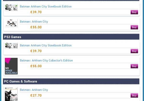 Special editions of Batman: Arkham City pack in unique content