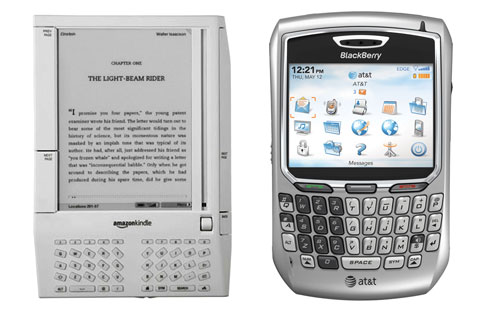 Amazon Kindle originally based on CEO Bezos' BlackBerry