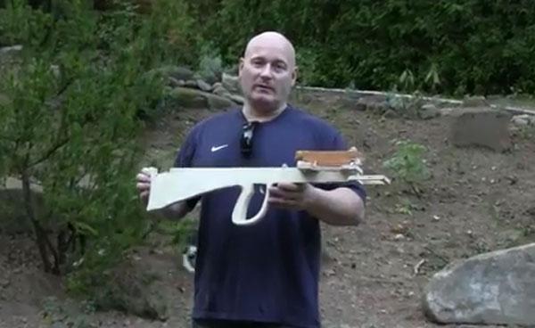 Joerg Sprave unveils compact bullpup crossbow slingshot