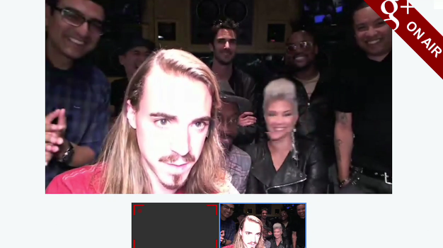 Google+ Hangout with Black Eyed Peas will.i.am ON AIR now [see the live video here!]
