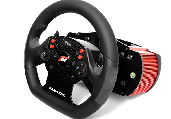 Fanatec CSR Elite force feedback racing wheel works with
