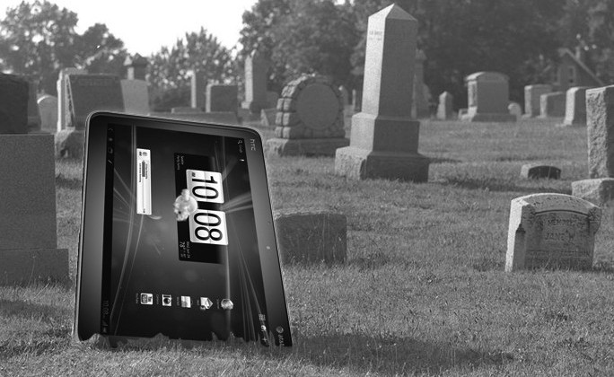 Congratulations AT&T, you killed HTC's tablet