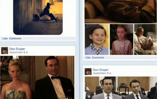 Zuckerburg should've hired Don Draper to unveil Timeline