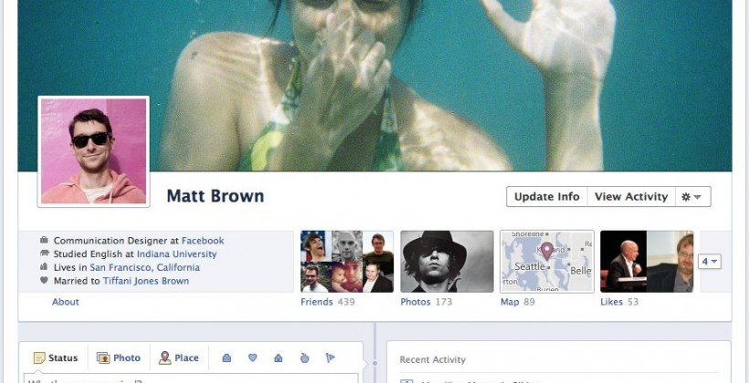 Facebook Timeline and The Cult Of Me