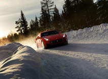 Ferrari offers Winter Driving Experience in Colorado