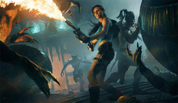 Lara Croft and Guardian of Light to be an Xperia Play exclusive