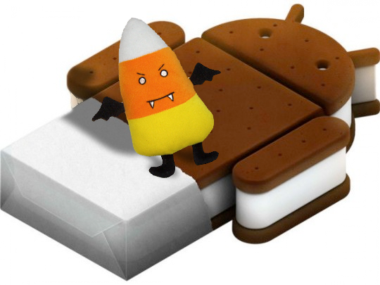 Android Ice Cream Sandwich Pegged for October by manufacturer