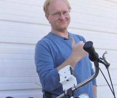 Ben Heck builds bicycle safety sensor