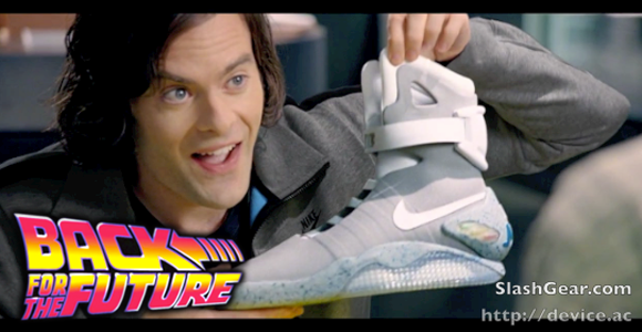 NIKE Teases Separate 2015 Re-Release of 2011 Back to the Future Shoe, Power Laces intact [Video]