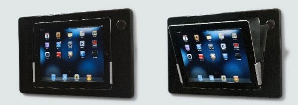 iRoom iDock for iPad is the world's first motorized in-wall iPad mount