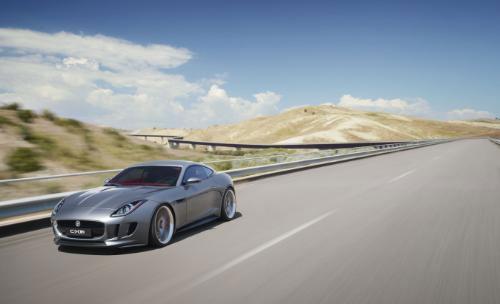 Jaguar unveils beautiful C-X16 concept