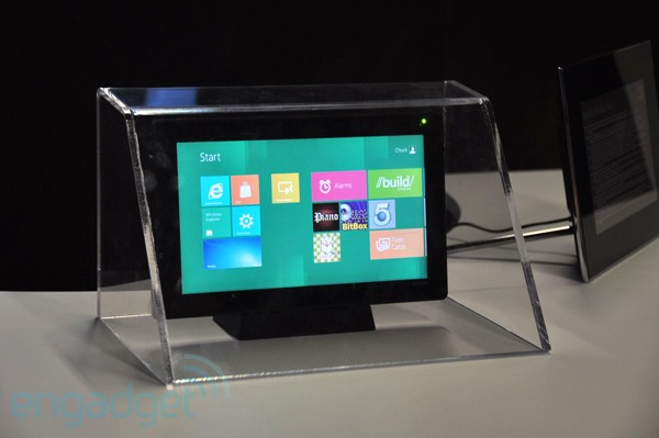 NVIDIA Kal-El tablet shown running Windows 8