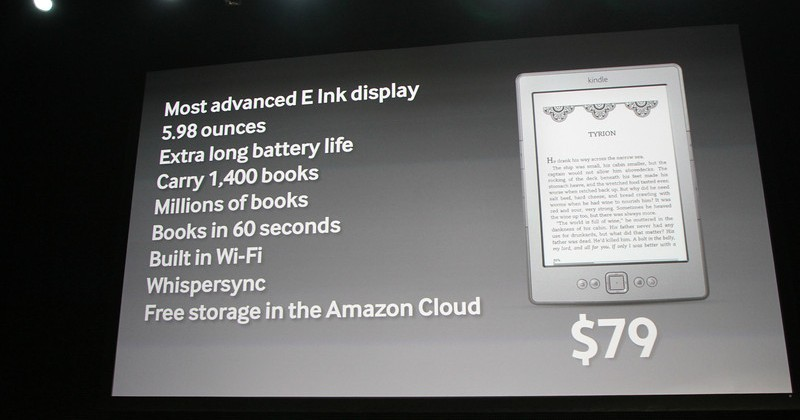 $79 Kindle revealed