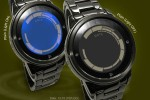 Kisai Rogue Touch LCD watch lights up with a touch