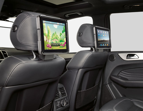 """Mercedes-Benz shows off """"iPhone Interface Plus"""" concept for 2012"""