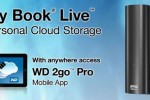 WD offers WD 2go and WD 2go Pro apps for My Book Live Personal drive