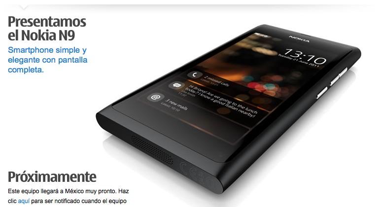 Nokia's N9 MeeGo handset heading to Mexico