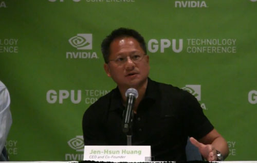 NVIDIA CEO expects growth in mobile chip business for Q3, sees strong fiscal 2013 overall
