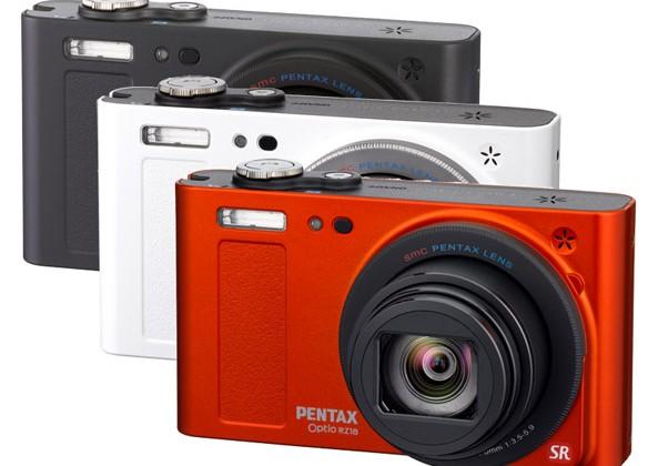 Pentax Optio RZ18 packs 18x optical zoom