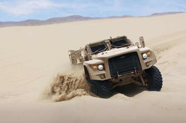 Oshkosh Defense shows off Light Combat Vehicle for next gen military transport