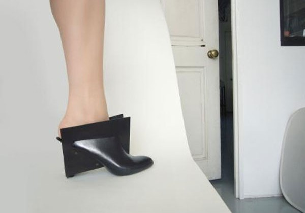 Rapid prototype shoe for women is perfect for squares