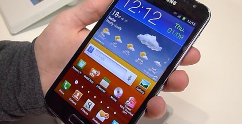 Samsung Galaxy Note hands-on [Video]