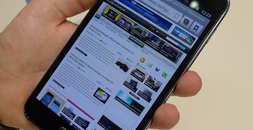Samsung Galaxy Note hits UK November tips retailer