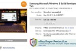 Samsung Windows 8 dev slates hit eBay for a premium