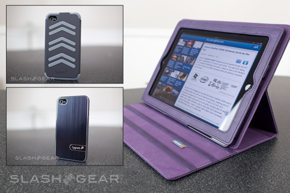Cygnett iPad 2 / iPhone 4 cases UrbanShield, WorkMate Pro, and Lavish Earth Reviews