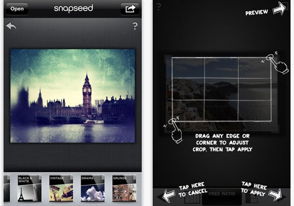 Snapseed photo editing software for iPhone is free for a few days