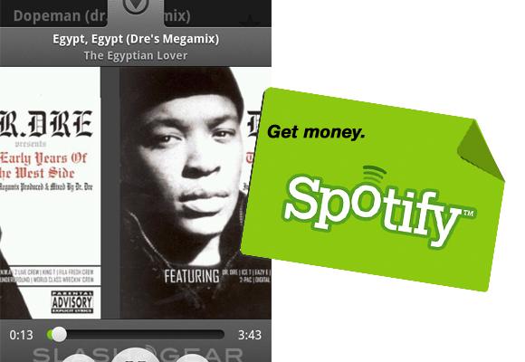 Spotify Premium Users hit Two Million