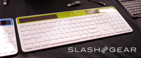 Logitech Wireless Solar Keyboard K750 For Mac Hands On Video Slashgear