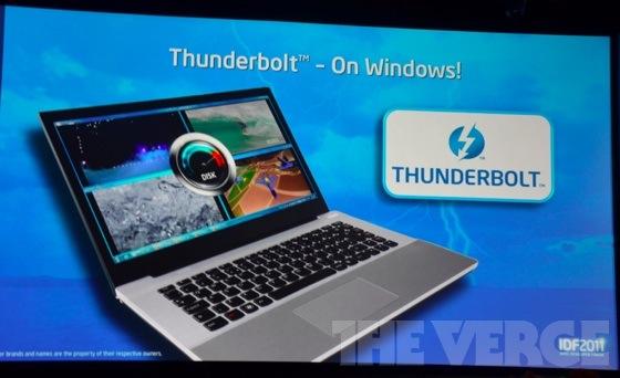 Intel teases Thunderbolt I/O port for Windows PCs