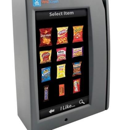 VendScreen gives boring plain vending machines touchscreen coolness