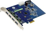 VIA VL800 four-port USB 3.0 host controller for PCIe slots surfaces