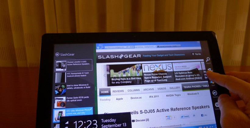 "Windows 8 focus on HTML5 not ""legacy"" Flash"